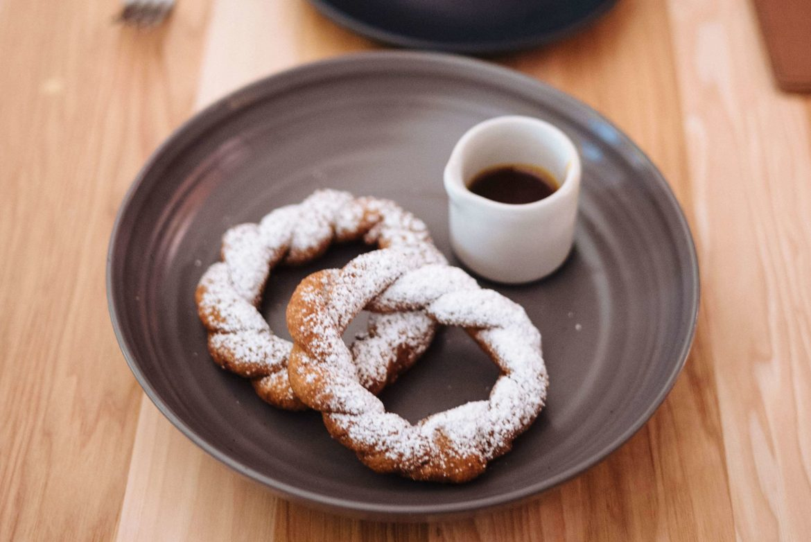 The Taste Edit Culinary and Travel bloggers and photographers visits ATX Cocina the best Modern Mexican Austin restaurant - try the Sweet potato churros with agave sauce