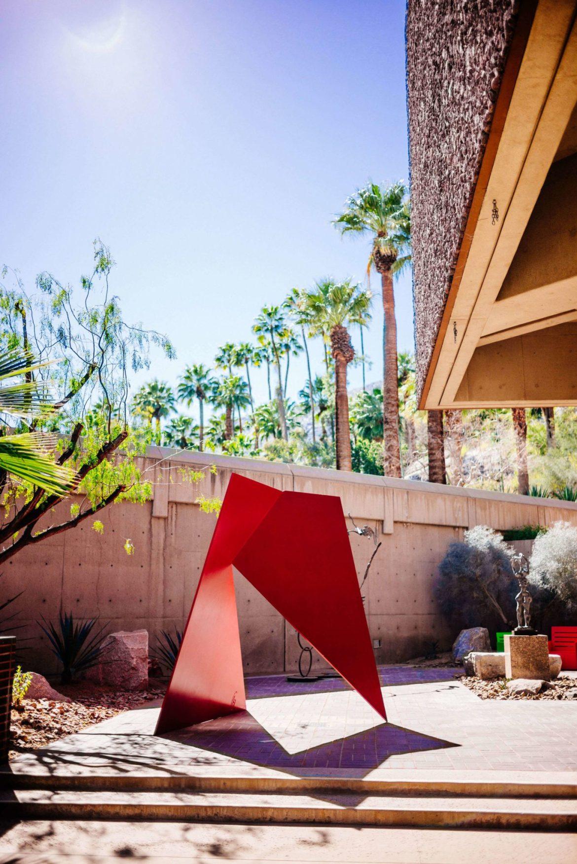 Sculpture garden at the Palm Springs Art Museum, The Taste Edit