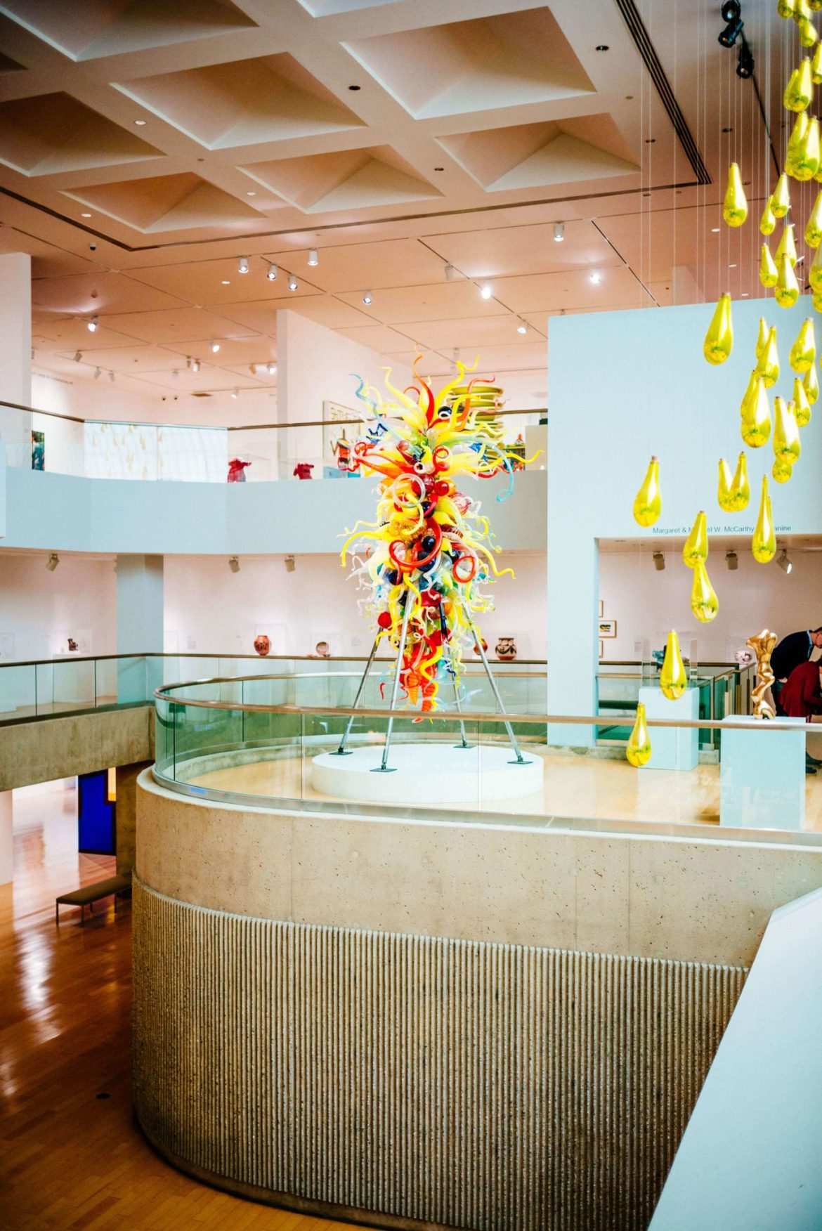 If you love to wander around the modern art you must visit the Palm Springs Art Museum, The Taste Edit