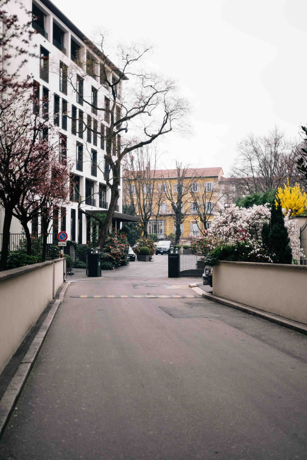 The Hotel Bulgari Milano is a perfect location to shop or reach the famous Milan Cathedral, The Taste Edit