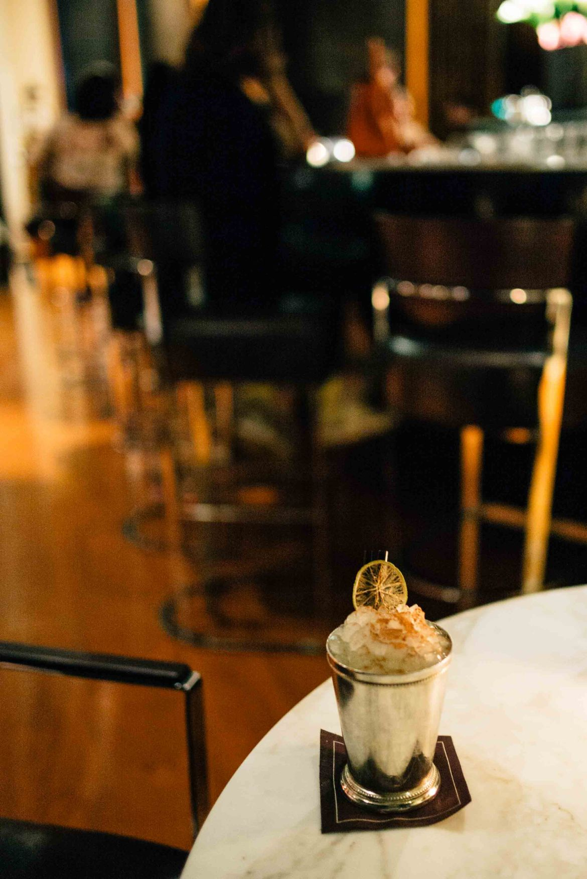We love the gin cocktails at the best bar in Milan - the Hotel Bulgari Milano, The Taste Edit