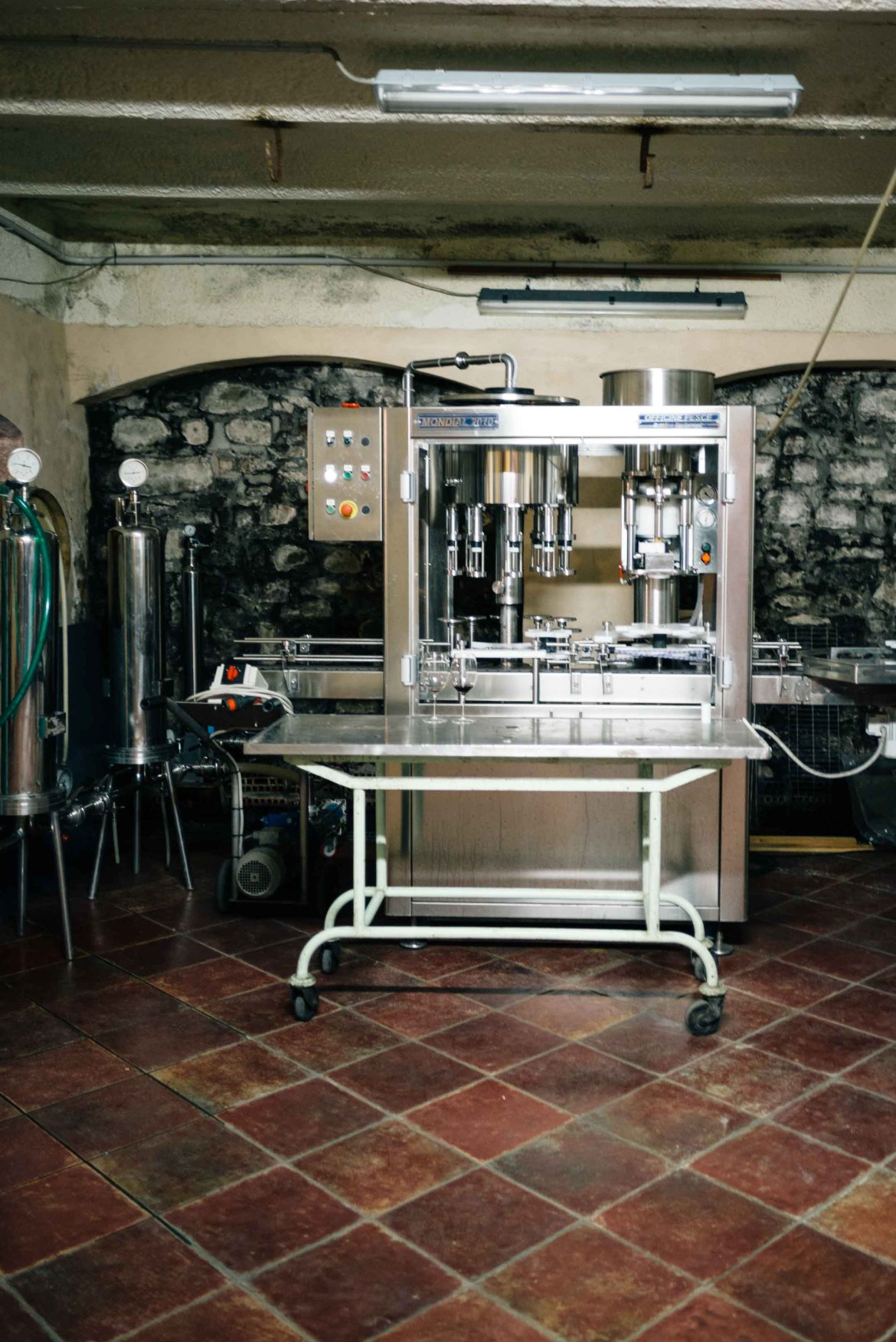 The Taste Edit, culinary photographers, recommends visiting this magical winery in northern Italy. Castello di Stefanago is near the town of Pavia in Lombardy. Winemaker and owner Giacomo Baruffaldi gives us a tour of the winery where they make Baruffaldi natural wines. The bottling machine