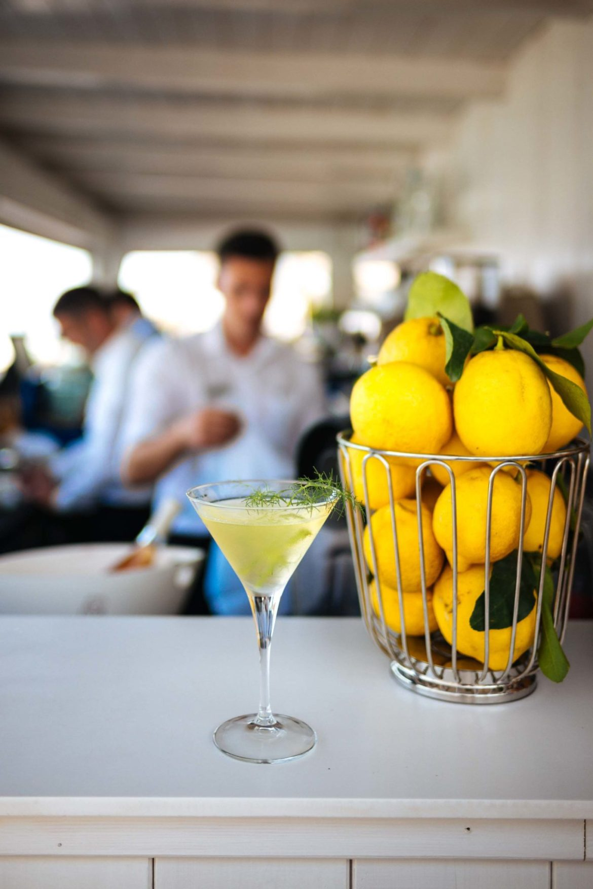 The Taste Edit shares the recipe for the Mare Nostrum gin cocktail at La Plage Resort, Taormina Sicily Italy