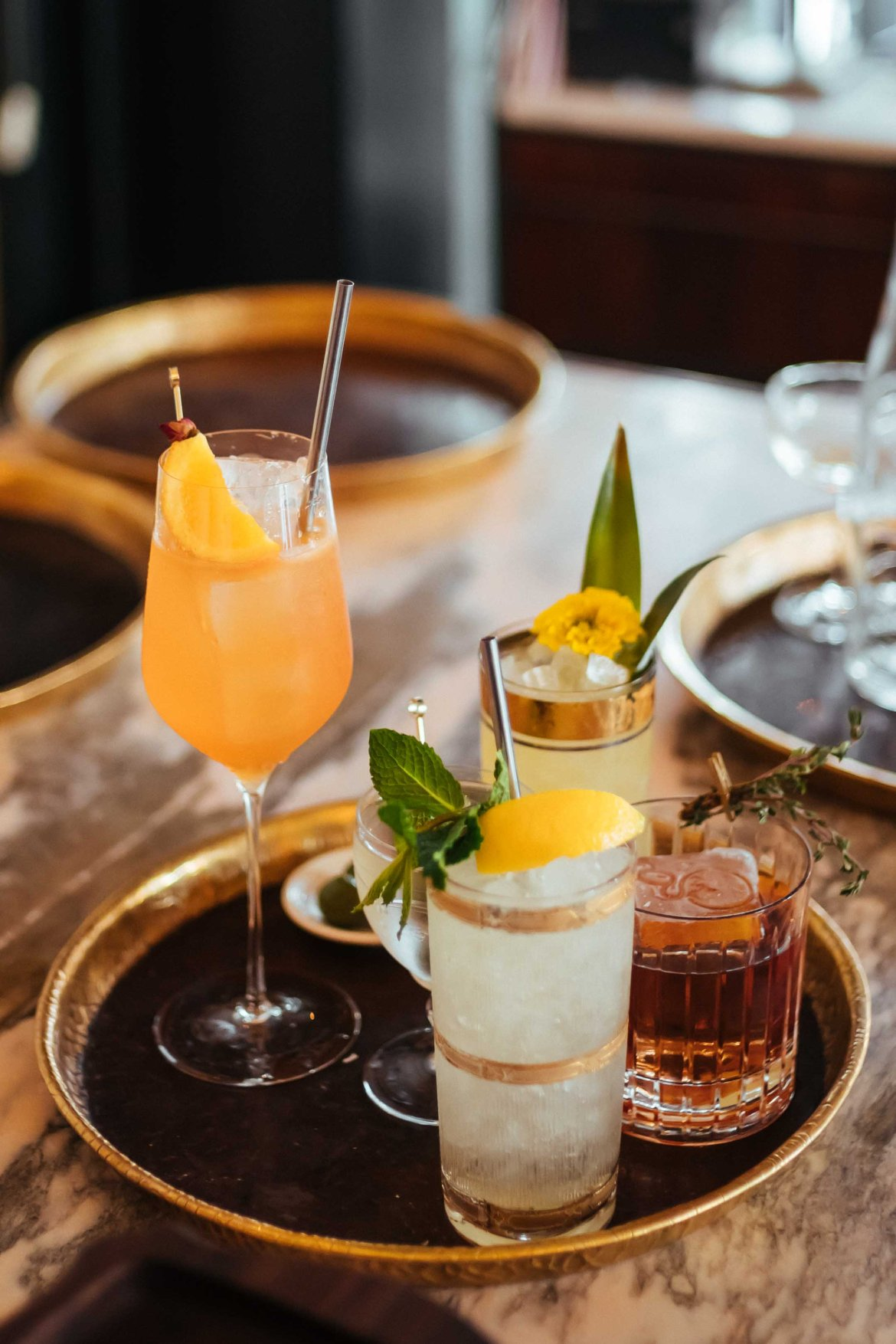 Find some of the best cocktails in Hollywood at Gwen Butcher Shop and Steakhouse Restaurant in Los Angeles, owned by Celebrity Chef Curtis Stone.