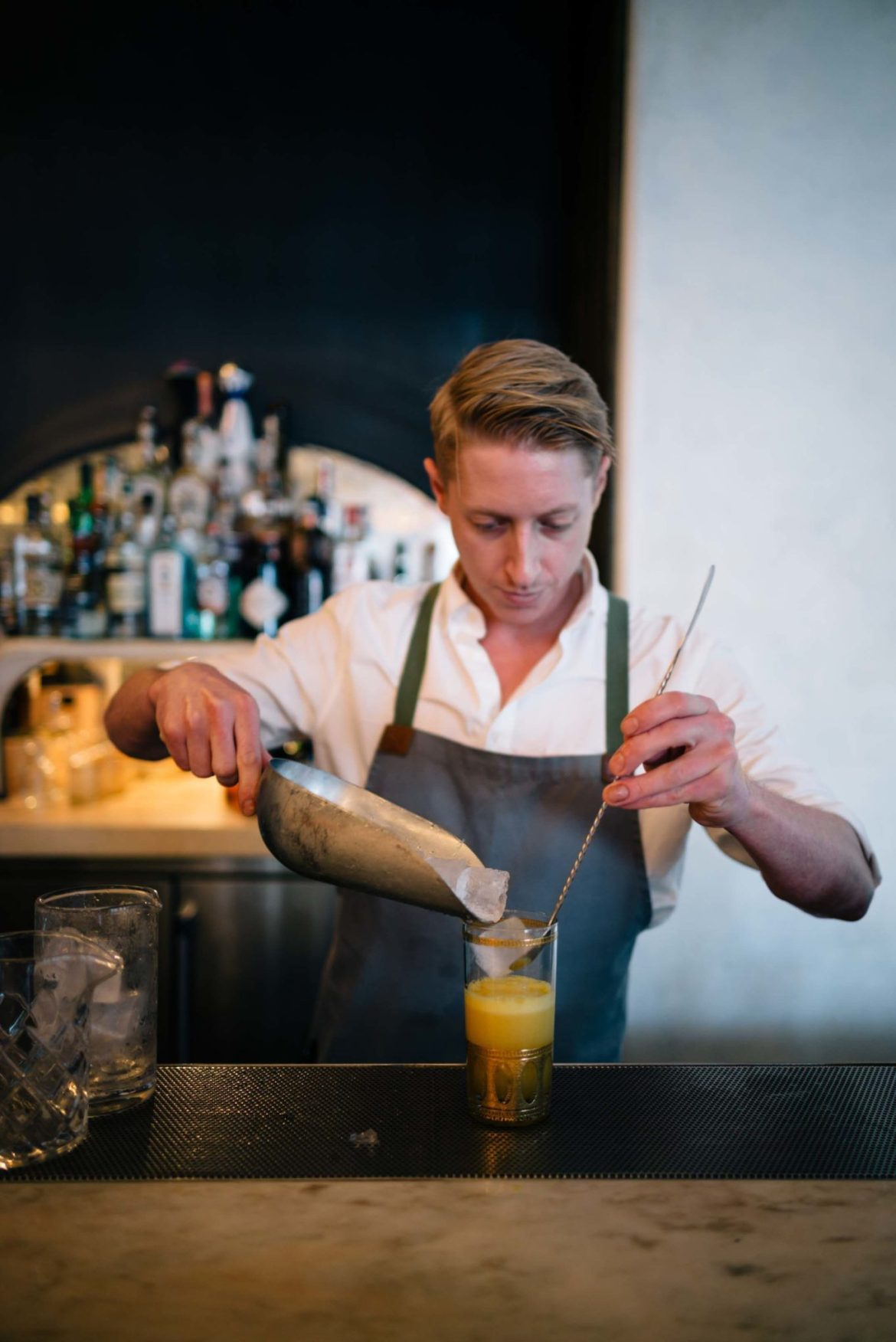 The Taste Edit recommends cocktails at Hollywood Bar, Restaurant, and Butcher shop - Gwenin Los Angeles, owned by Celebrity Chef Curtis Stone.