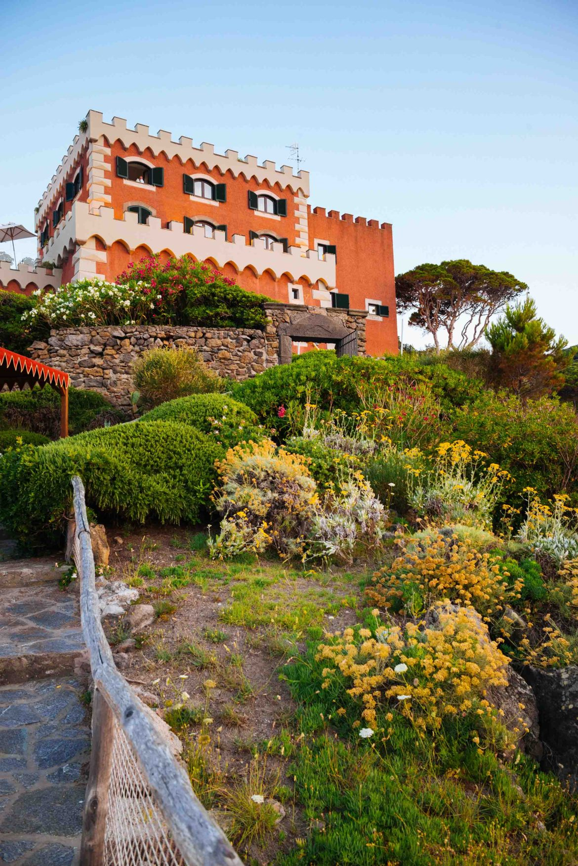 Stay at the Mezzatorre hotel in Ischia Italy on your vacation to the Amalfi Coast