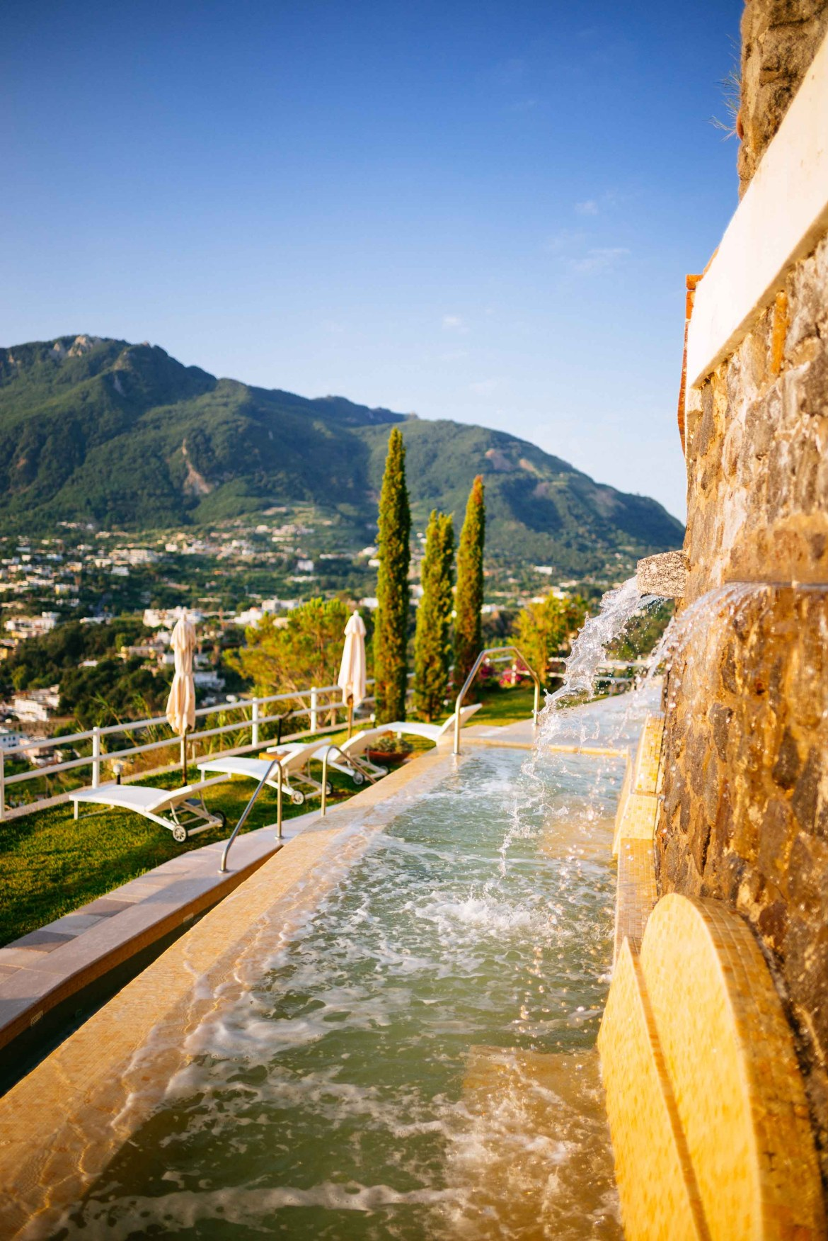 Relax in the many pools of San Montano Resort & Spa   thetasteedit.com #italy #travel #hotel #spa