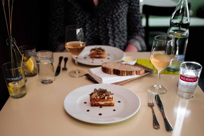Zurich Restaurant: Wermut Vermouth Bar & Restaurant truffle brioche at dinner