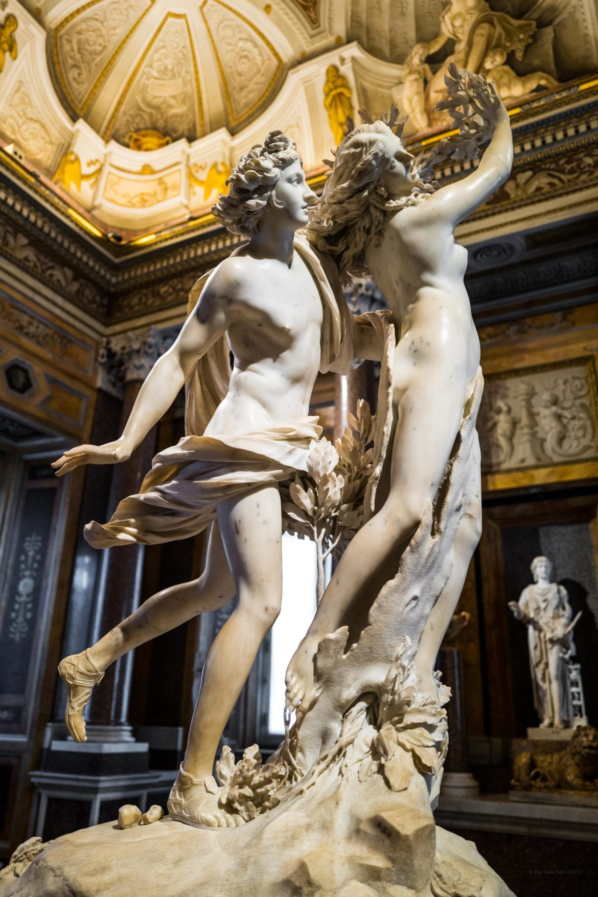 Visiting Bernini statues at the Galleria Borghese in Rome without tourists, The Taste Edit #rome #borghese #italy #travel #museum