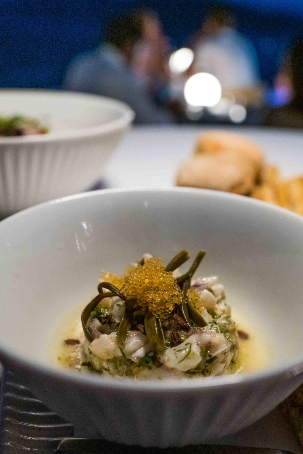 Chef Polychronis Damalas at Saint Suites Hotel Santorini Greece