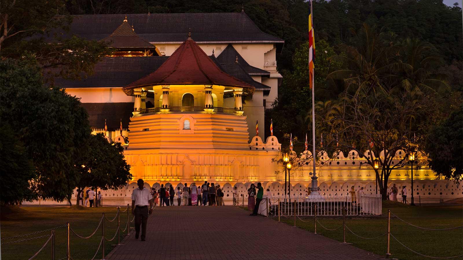Świątynia Zęba w Kandy, Sri Dalada Maligawa