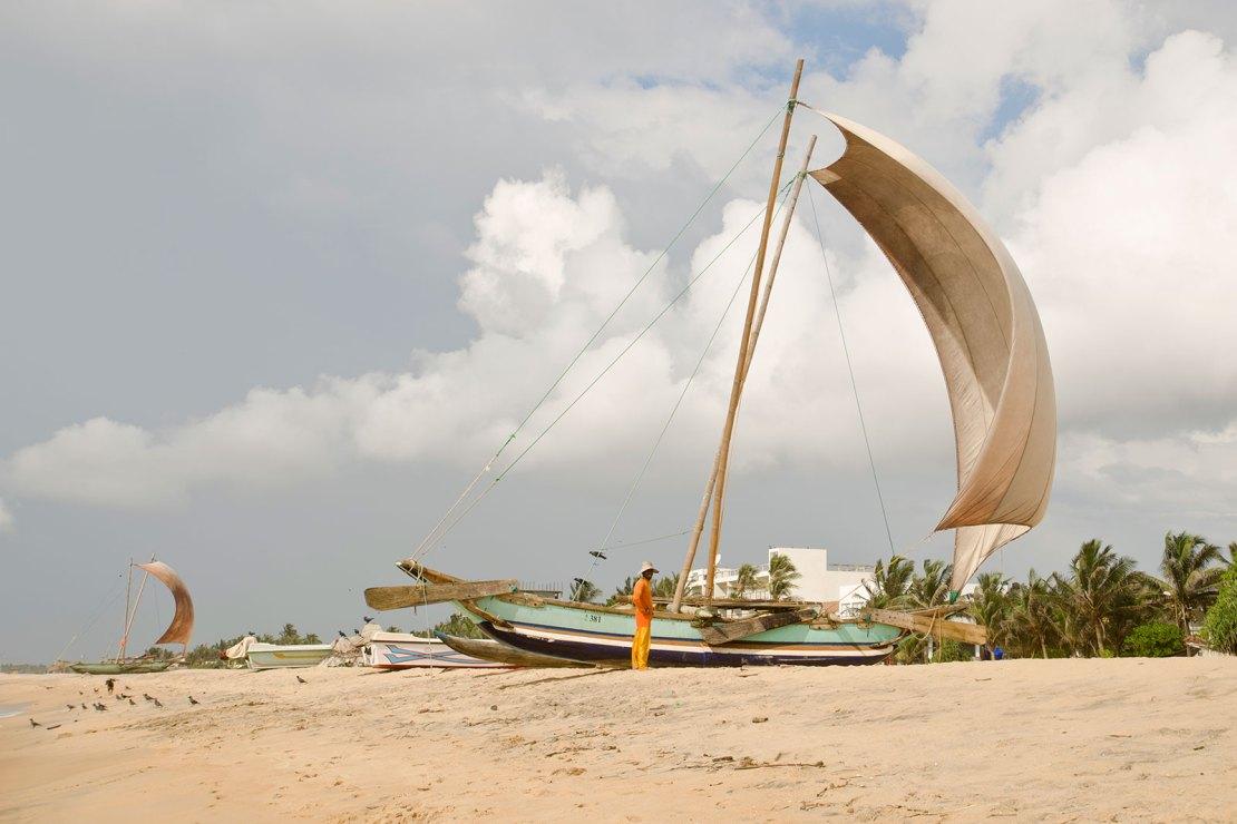Negombo plaża , Sri Lanka