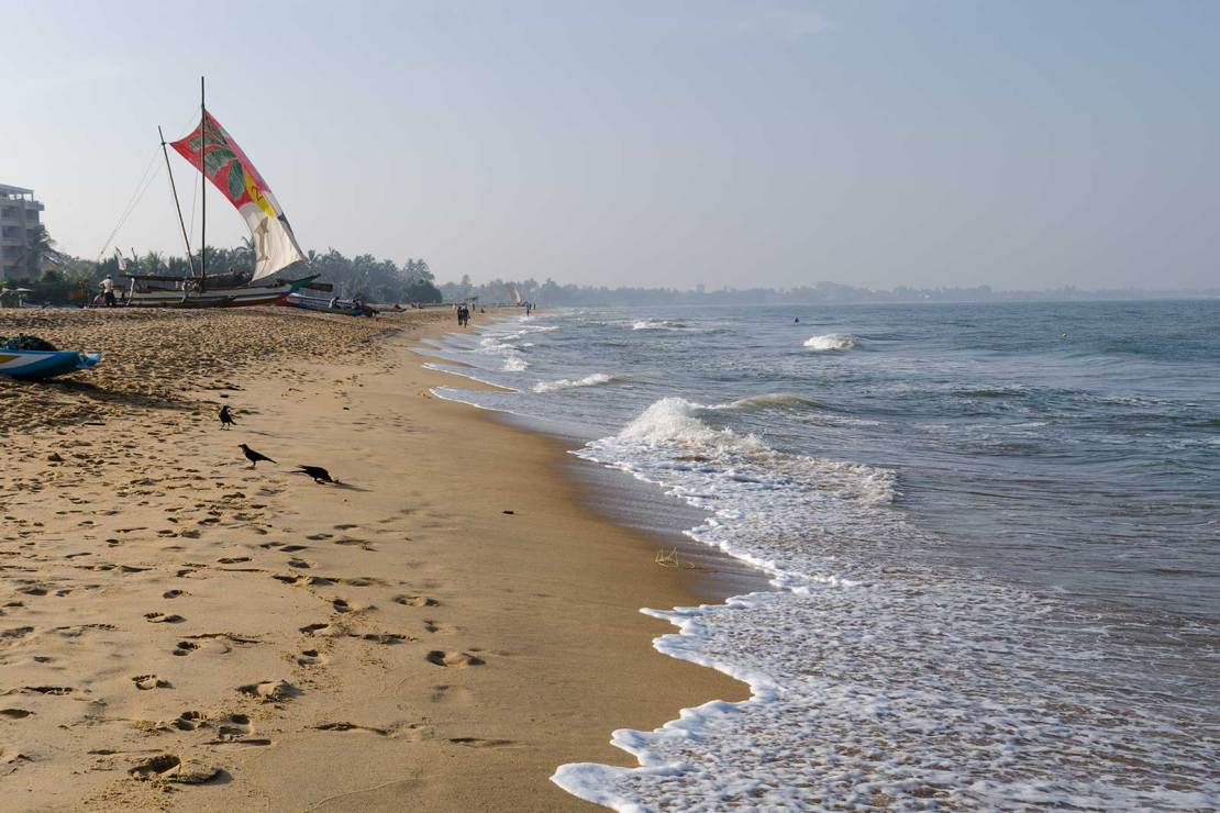 Negombo plaża, Sri Lanka