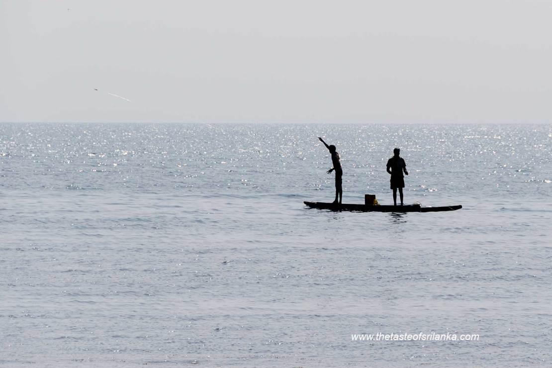 Rybacy, Wyspa Delft, Sri lanka