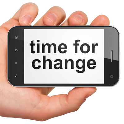 No cell phone zone digital dining time for change