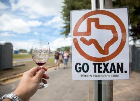 Austin Wine Festival 2009 - Go Texan