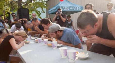 Sugar Mama's pie eating contest