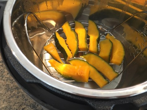 steamed squash pressure cooker