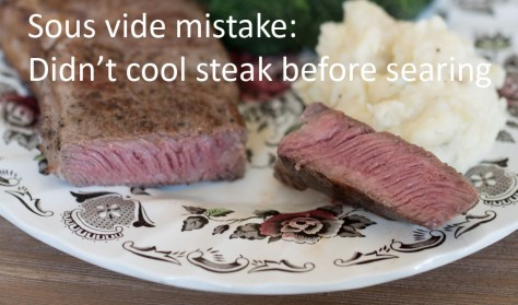 improper sear sous vide medium