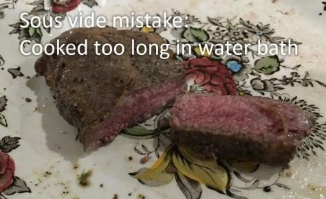 gelatinous sous vide steak