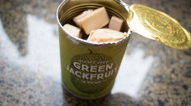 Meat substitute, green jackfruit can replace shredded pork, but how does it taste?