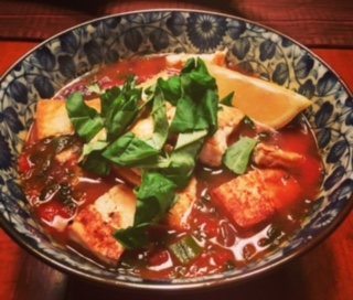 Ginger, Curry Tomato Soup