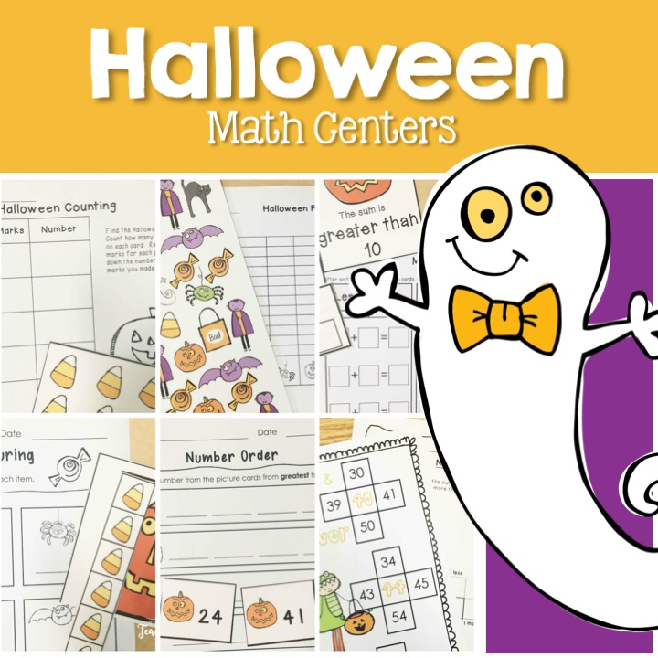 Fun and engaging Halloween math centers