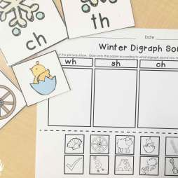 winter digraph sort