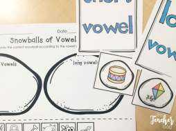 winter vowel sort