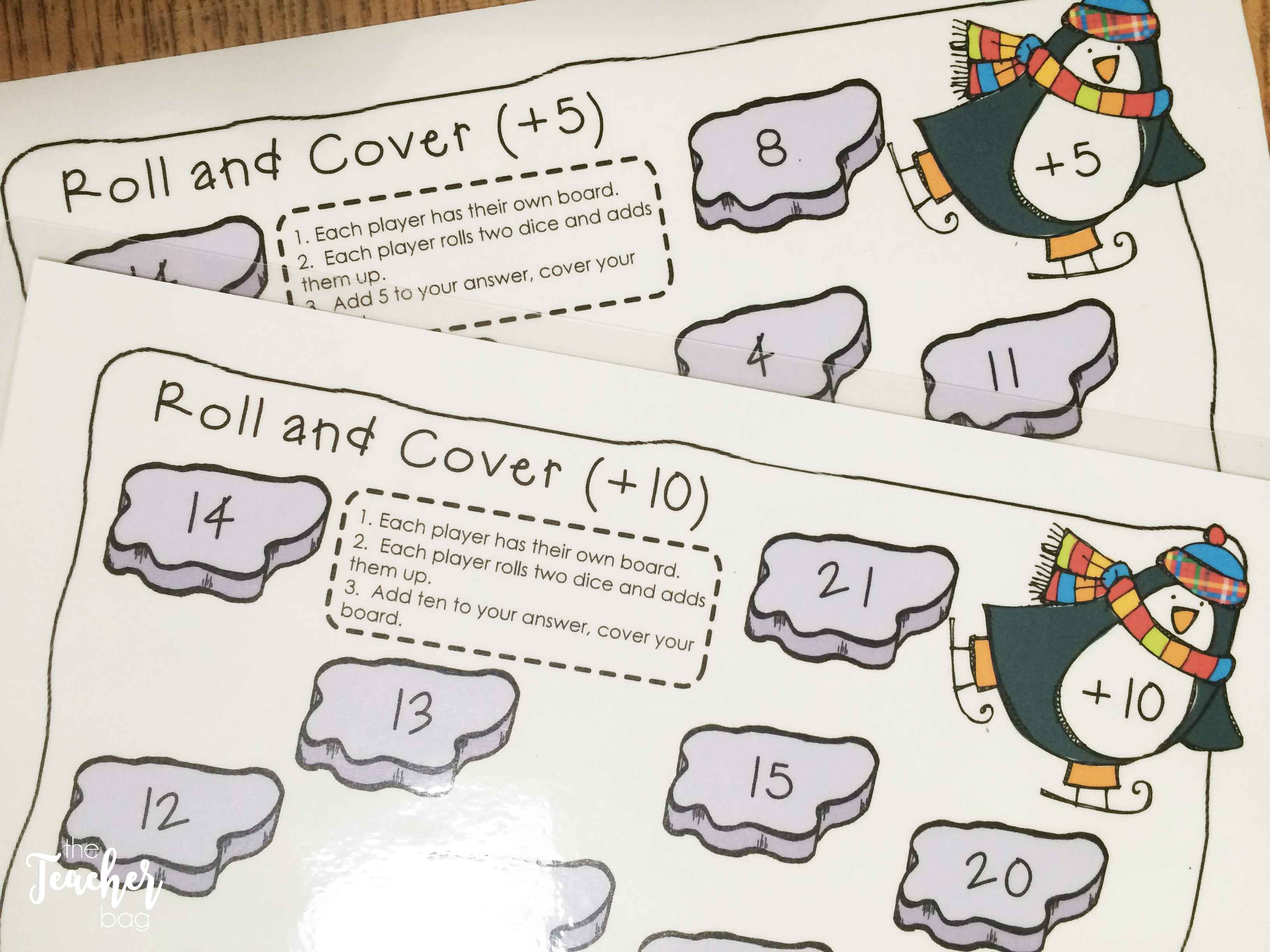 penguin roll and cover