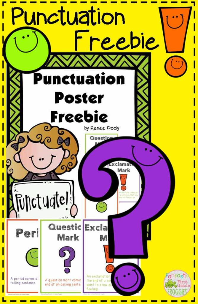 Punctuation Freebie