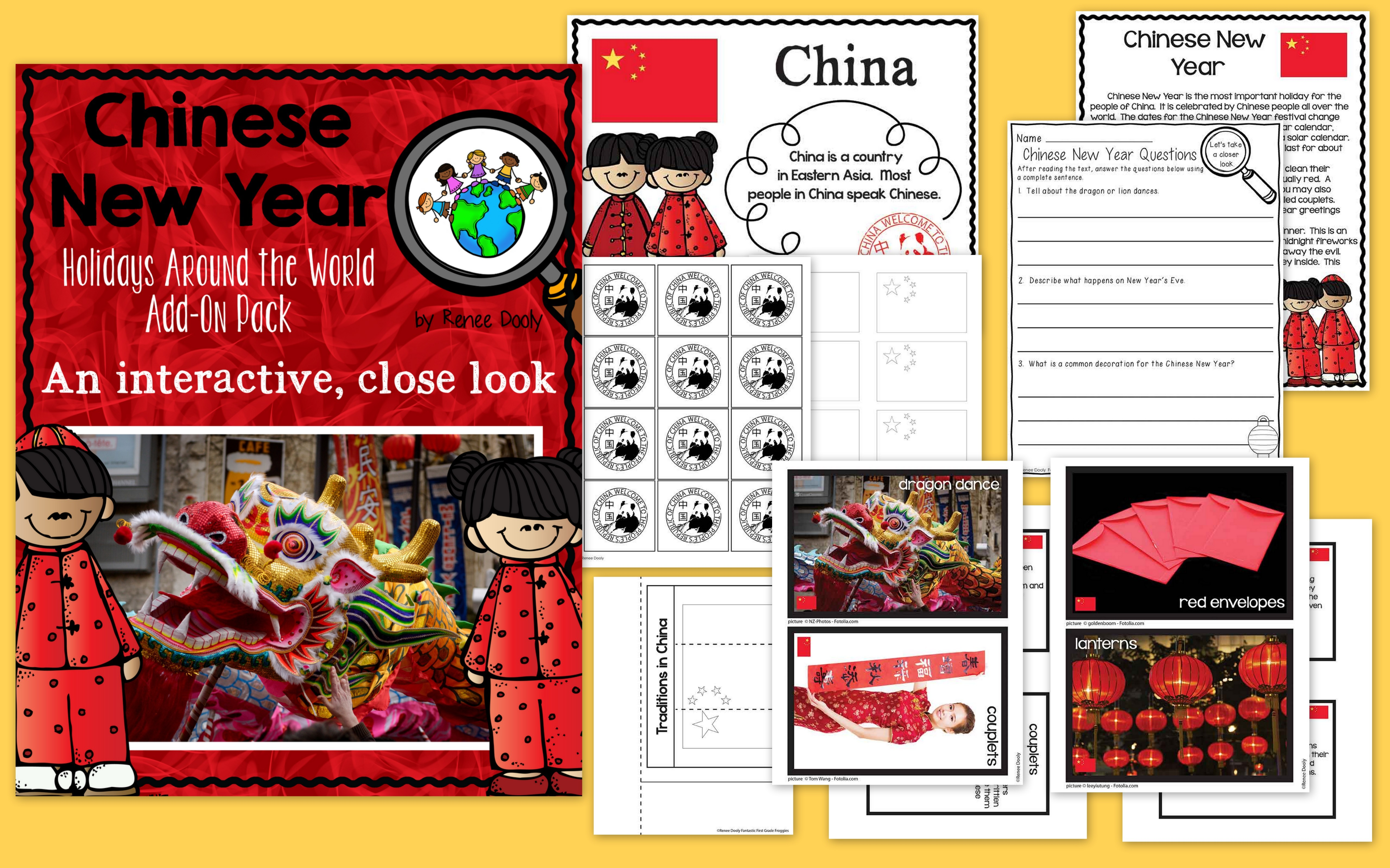 Chinese New Year Collage