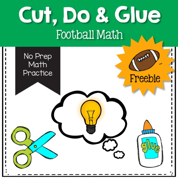 football-math-freebie