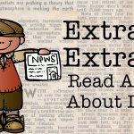 Extra! Extra!  Read All About it! A Freebie Included!