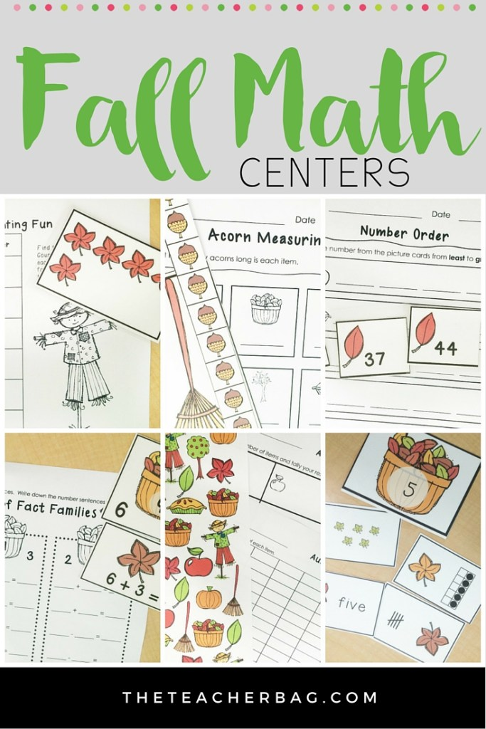 fall and autumn math