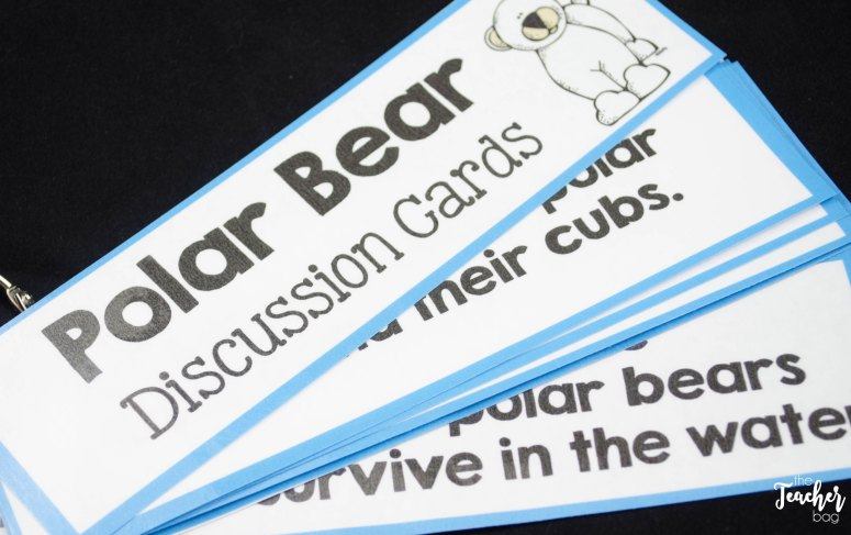 polar bear discussion cards