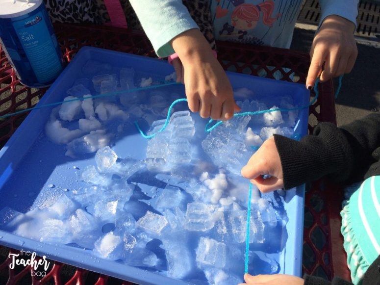 ice and salt experiment