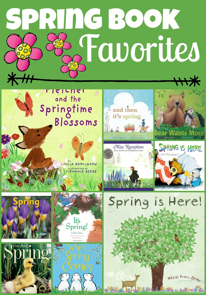spring book Collage