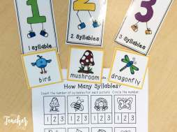 Spring syllable sort