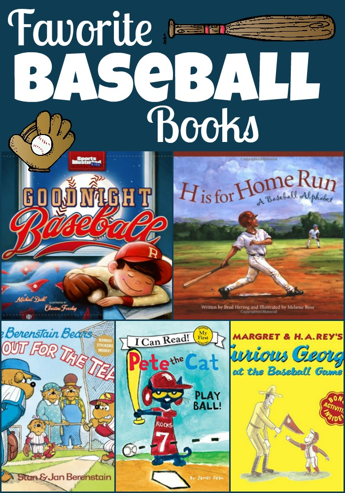 baseball books Collage