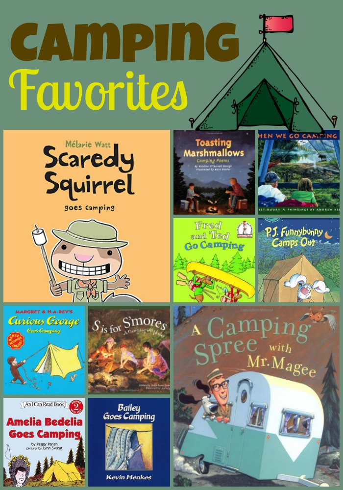 camping books Collage