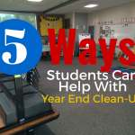 Five Things Your Students Can Do to Help With End of the Year Clean-Up