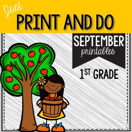 September Print and Do