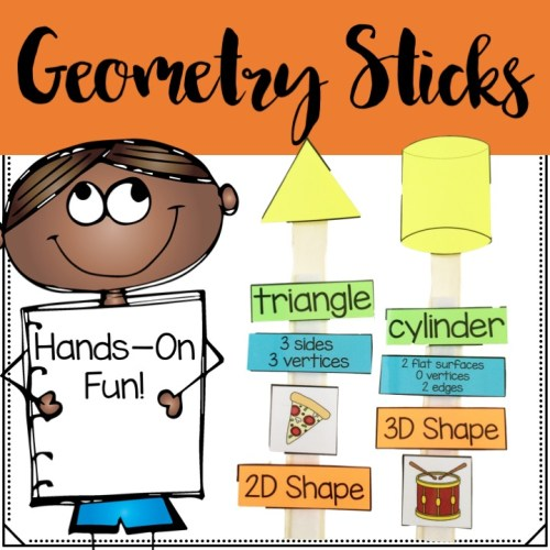 geometry math sticks