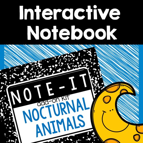 nocturnal animal interactive notebook