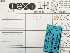 text your sight words