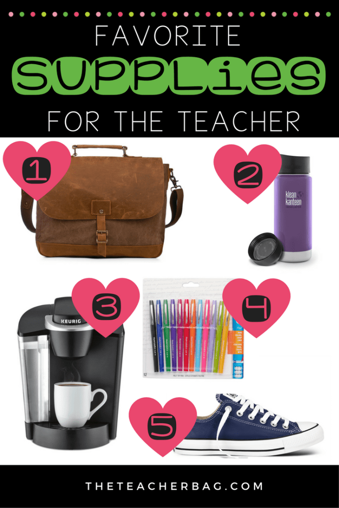 Favorite Supplies for the Teacher 2017