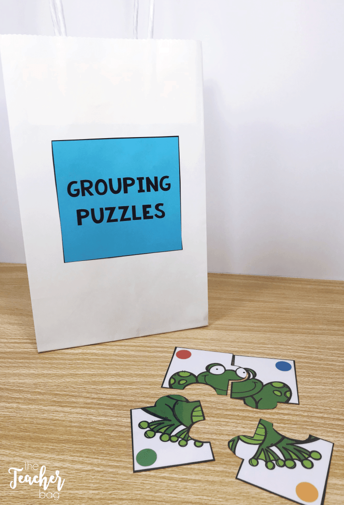collaboration grouping puzzles