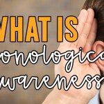 Easy Phonological Awareness Activities