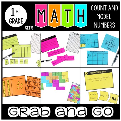Grab and Go Math Count and Model Numbers